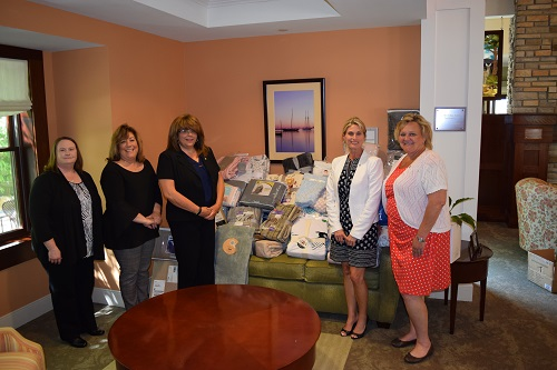 Members of the Lowell Five Bank Employee Charitable Giving Committee