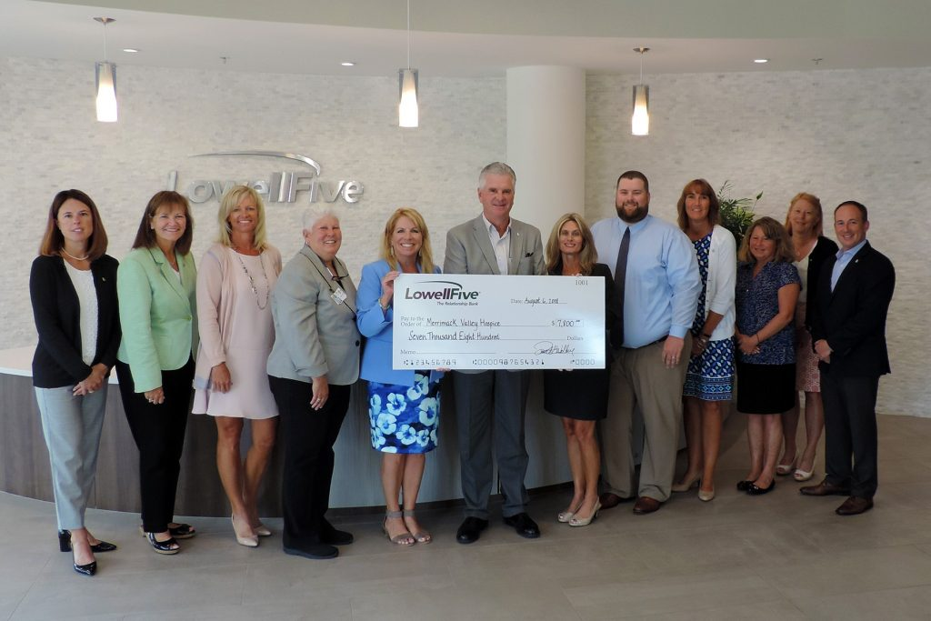 Lowell Five Charitable Giving Award recipient is High Pointe House