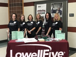Lowell Five Branch Managers at Nashoba Valley Technical High School